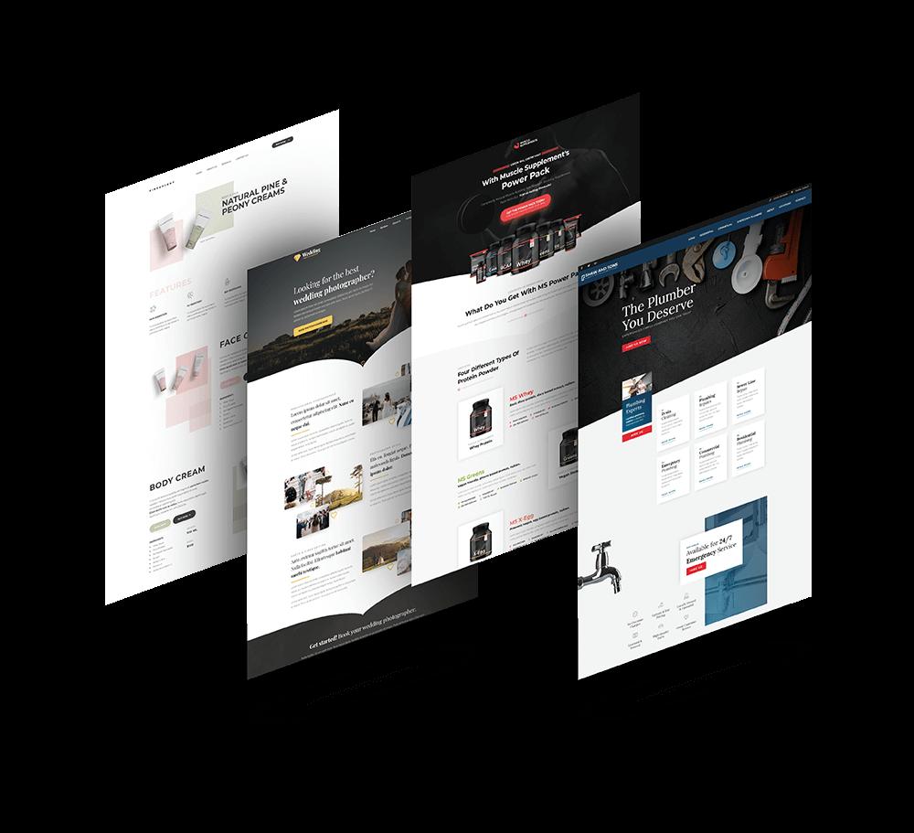Custom Web Development-WordPress-ClickFunnels-Clickbank-Stripe
